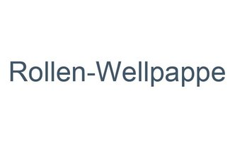 Rollen-Wellpappe