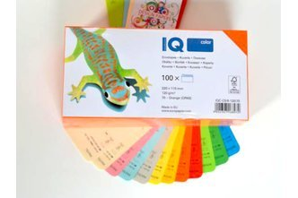 IQ Color Kuverts / ALTER SCHNITT